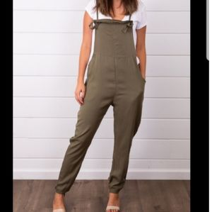 Hayden Los Angeles green jumpsuit!